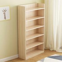 实木书架置物架落地简易客厅卧室儿童桌面上收纳学生小书柜子简约