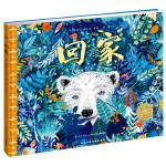 海豚绘本花园:回家(给孩子的艺术启蒙、生命教育与环保启蒙绘本)