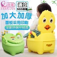 儿童马桶坐便器女宝宝座便器小孩便盆坐便器男加大号婴儿坐便尿盆 升级软垫款