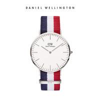 DanielWellington丹尼尔惠灵顿 dw手表男 40mm正品织纹石英男表
