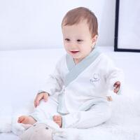 新生婴儿衣服内衣套装纯棉四季分体和服
