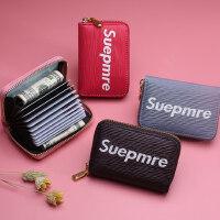 韩版可爱小巧卡包钱包一体包女式多卡位大容量卡片包超薄放零钱包