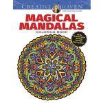 【预订】Creative Haven Magical Mandalas Coloring Book By the Il
