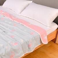六层纱布毛巾被儿童婴儿纯棉单人双人毛巾毯子夏空调被夏凉被