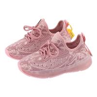 女童鞋2020年新款运动鞋春季单鞋儿童针织休闲鞋男童鞋子椰子鞋潮
