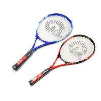 强力 男女单人组合训练拍 初学者网球拍 强力633 蓝色/红色