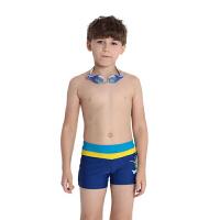 YINGFA英发 男童休闲卡通系带沙滩裤Y0219 拼色时尚温泉平角泳裤