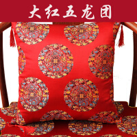 红木沙发靠垫中式抱枕中国风婚庆古典靠背垫茶椅腰枕抱枕含芯