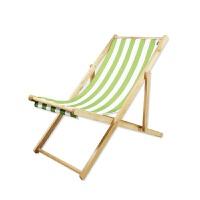 沙滩躺椅帆布 沙滩椅折叠躺椅实木牛津帆布椅躺椅靠椅户外便携午休木质躺椅