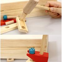 男孩益智维修理工具台螺母拆装积木制儿童维修工具箱玩具套装