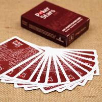 塑料扑克牌 德州扑克牌磨砂 塑料扑克 宽字大字 防水耐磨2副