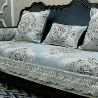 沙发垫四季通用欧式布艺夏季皮防滑客厅组合123套装坐垫定做