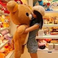 布娃娃抱枕儿童节生日礼物抱抱熊公仔可爱轻松小熊毛绒玩具