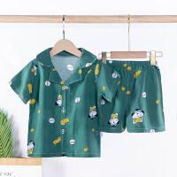 夏季卡通男女童家居服睡衣童套装