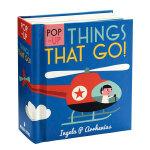 【Pop-up】Things That Go!,【立体书】交通工具 英文原版