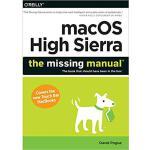 【预订】macOS High Sierra: The Missing Manual: The book that sh