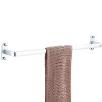 贝乐卫浴BALLEE G5509-1免打孔毛巾杆浴室单杆毛巾架太空铝挂件