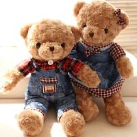 正版泰迪熊公仔抱抱熊毛�q玩具送女生可�弁媾即笮苌�日圣�Q��Y物