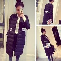 韩观棉衣女中长款修身学生韩国少女面包服过膝加厚冬季棉袄女羽绒