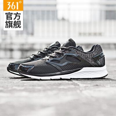 361男鞋网面名牌运动鞋361度跑鞋男子跑步鞋