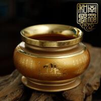 佛教用品纯铜香炉立香炉线香炉盘香熏香炉七夕 抖音