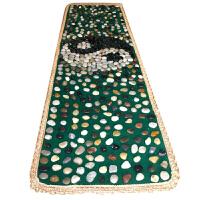 足底按摩垫 走毯中医健康 鹅卵石脚底部足疗    老年人保健雨花石