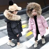 女童�b棉衣�L款女����羽�q冬�b外套