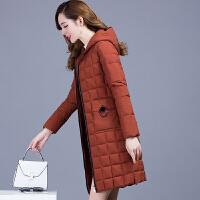 20180415131817603棉衣女中长款2017冬季新款韩版修身薄款中年羽绒轻薄棉袄外套