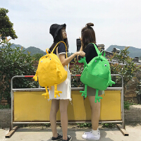 卡通书包女韩版原宿ulzzang ins超火双肩包背包高中学生校园可爱