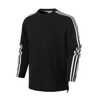 adidas阿迪达斯男子长袖T恤2018新款套头休闲运动服CJ1914
