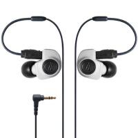 【支持礼品卡】铁三角 (audio-technica) ATH-IM50 WH 双动圈入耳耳机 同轴双动圈 入耳式监听