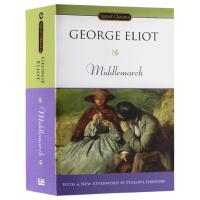 米德尔马契 英文版原版小说 Middlemarch 英文原版乔治艾略特 正版进口英语书籍