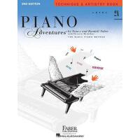 英文原版 菲伯尔钢琴基础教程(2A级):技艺 Piano Adventures: Level 2A: Techniqu