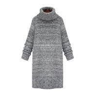 大衣内搭女秋冬打底连衣裙韩版中长款针织可搭配毛呢风衣外套