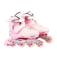 HEALTH/飞人海尔斯5060溜冰鞋套装 轮滑鞋旱冰鞋滑冰鞋 直排可调