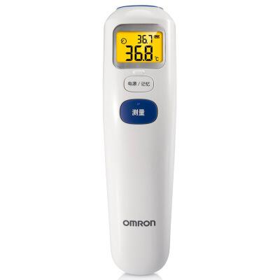 [当当自营]欧姆龙(OMRON)红外电子体温计 MC-872(额温枪)全自动上臂测量 大屏幕大字体