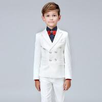 春秋男童礼服中大童花童主持钢琴演出服 儿童西装礼服男套装韩版
