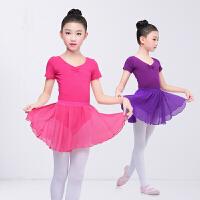 儿童舞蹈练功服夏季芭蕾舞裙民族中国舞套装跳舞演出服女