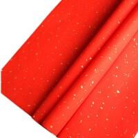 四尺单宣纸洒金加厚对联纸半生半熟书法专用空白万年红春联纸批发
