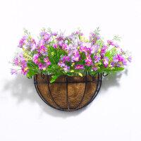壁挂花装饰品摆件花客厅卧室假花盆栽仿真花装饰花摆放壁挂花篮