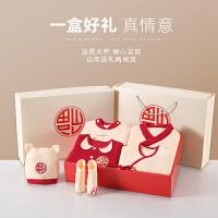 新生婴儿衣服秋冬套装礼盒初生满月礼物宝宝母婴用品