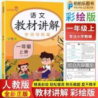 教材讲解一年级上册语文 人教部编版