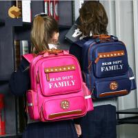 小学生书包1-3-6年级护脊6-12周岁减负双肩包 f2n