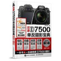 尼康D7500单反摄影宝典 相机设置+拍摄技法+场景实战+后期处理 正版 北极光摄影 9787115462329