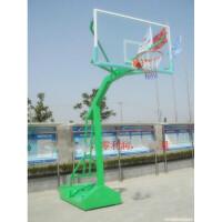 标准户外篮球架/移动单臂篮球架/地埋圆方管篮球架/仿液压篮架