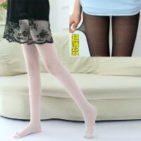 女童丝袜 连裤袜 夏季薄款儿童打底袜子春秋天超薄透明白色舞蹈袜