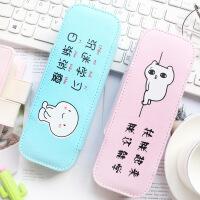 创意文具盒笔袋韩国简约女生小清新可爱学生文具收纳盒