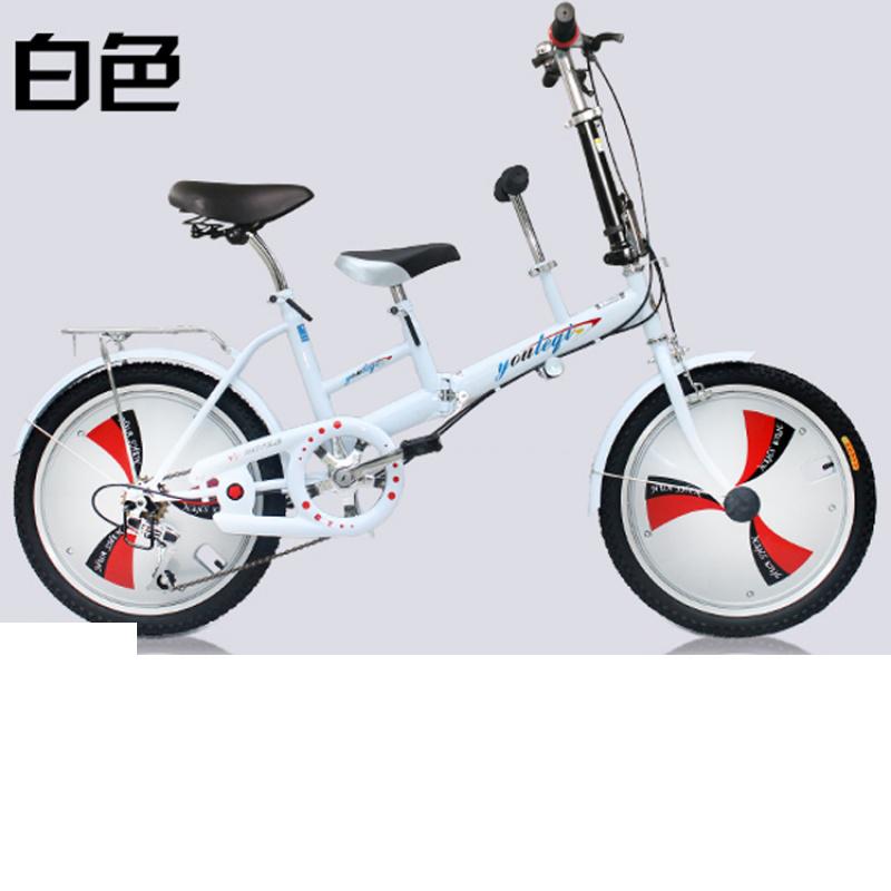子车母子车折叠自行车双人座可以带小孩自行车女式变速母婴单车 发货周期:一般在付款后2-90天左右发货,具体发货时间请以与客服协商的时间为准