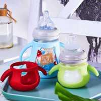 玻璃奶瓶新生���嗄躺衿魑顾�初生�D�荷鬃��勺�^防��夤枘z喂奶