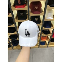 韩国棒球帽男女鸭舌帽情侣夏季洋基队NY字母遮阳防晒帽子 白色 LA 可调节